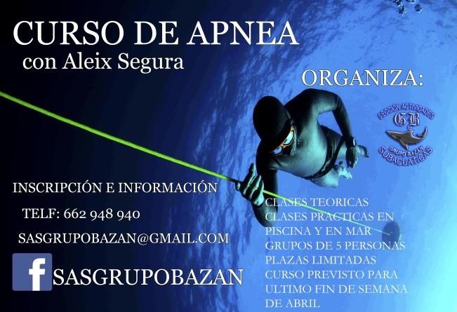 Grupo bazan-curso Apnea Aleix segura