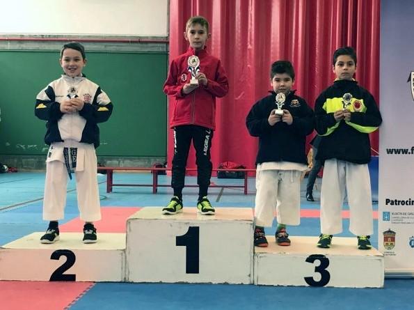 Grupo bazan- campeonato galego Karate 2017
